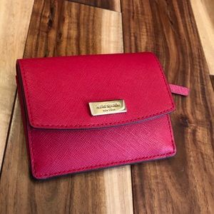 Kate Spade Laurel Way Petty Wallet Hotchili Red